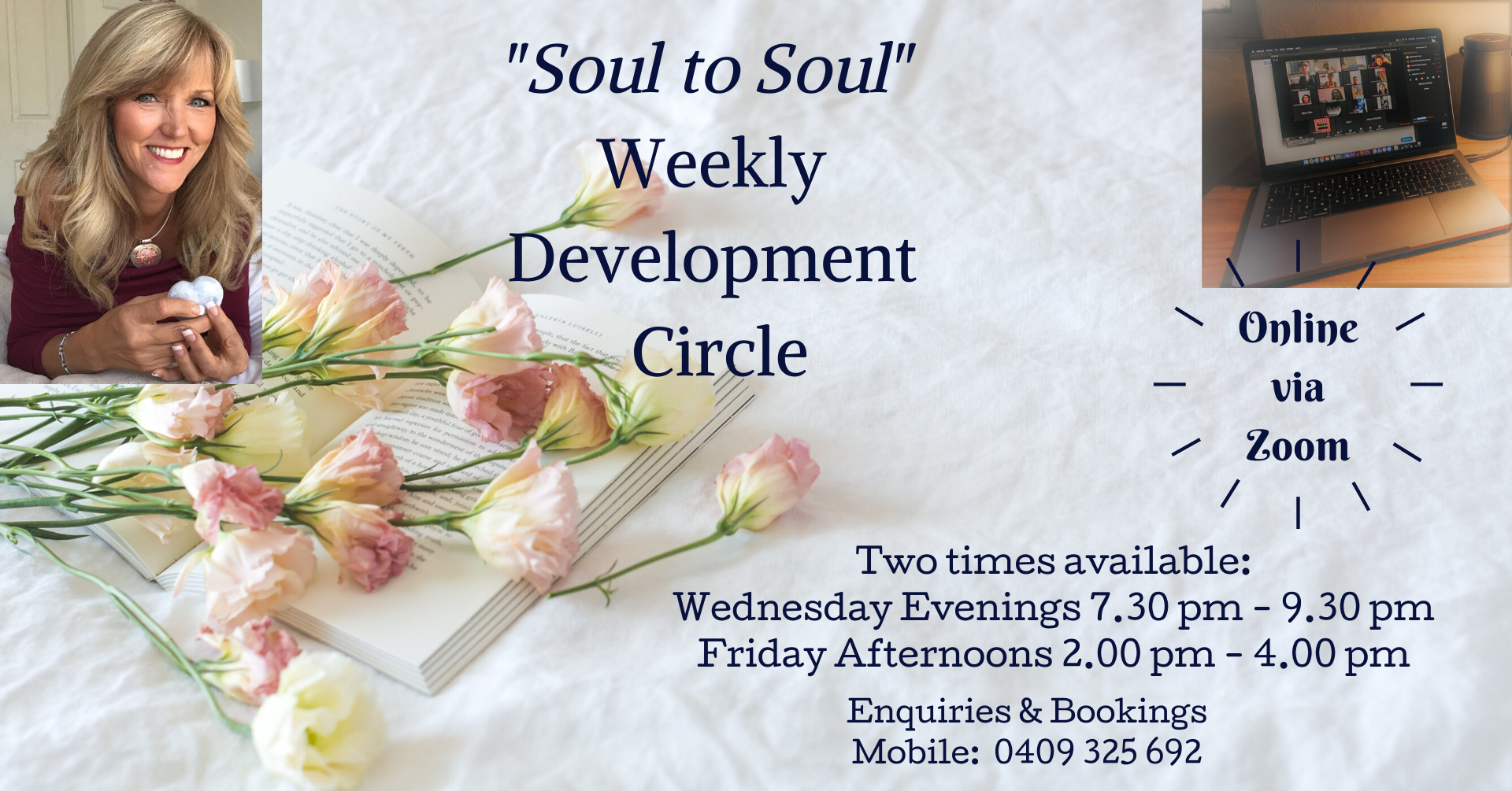 Online Soul to Soul Development Circle